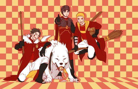 Naruto X Harry Potter Naruto Anime Naruto Anime