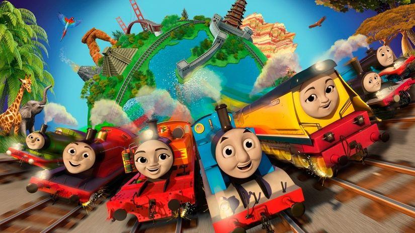 Thomas Friends Big World Big Adventures The Movie Review Thomas And Friends Thomas The Tank Engine Thomas