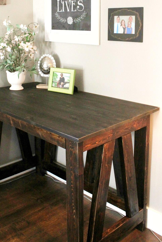 DIY Desk from 2x4s Diy desk, Diy dream home, Diy furniture