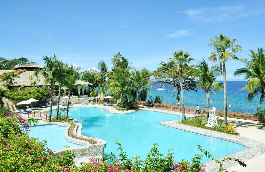 Alegre Beach Resorts, Cebu, Philippines. Unspoiled surroundings.