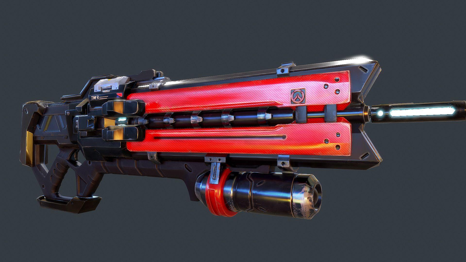 ArtStation - Soldier 76 re-skin / Overwatch fan art. , Arthur Rodriguez | Sci-fi weapons ...