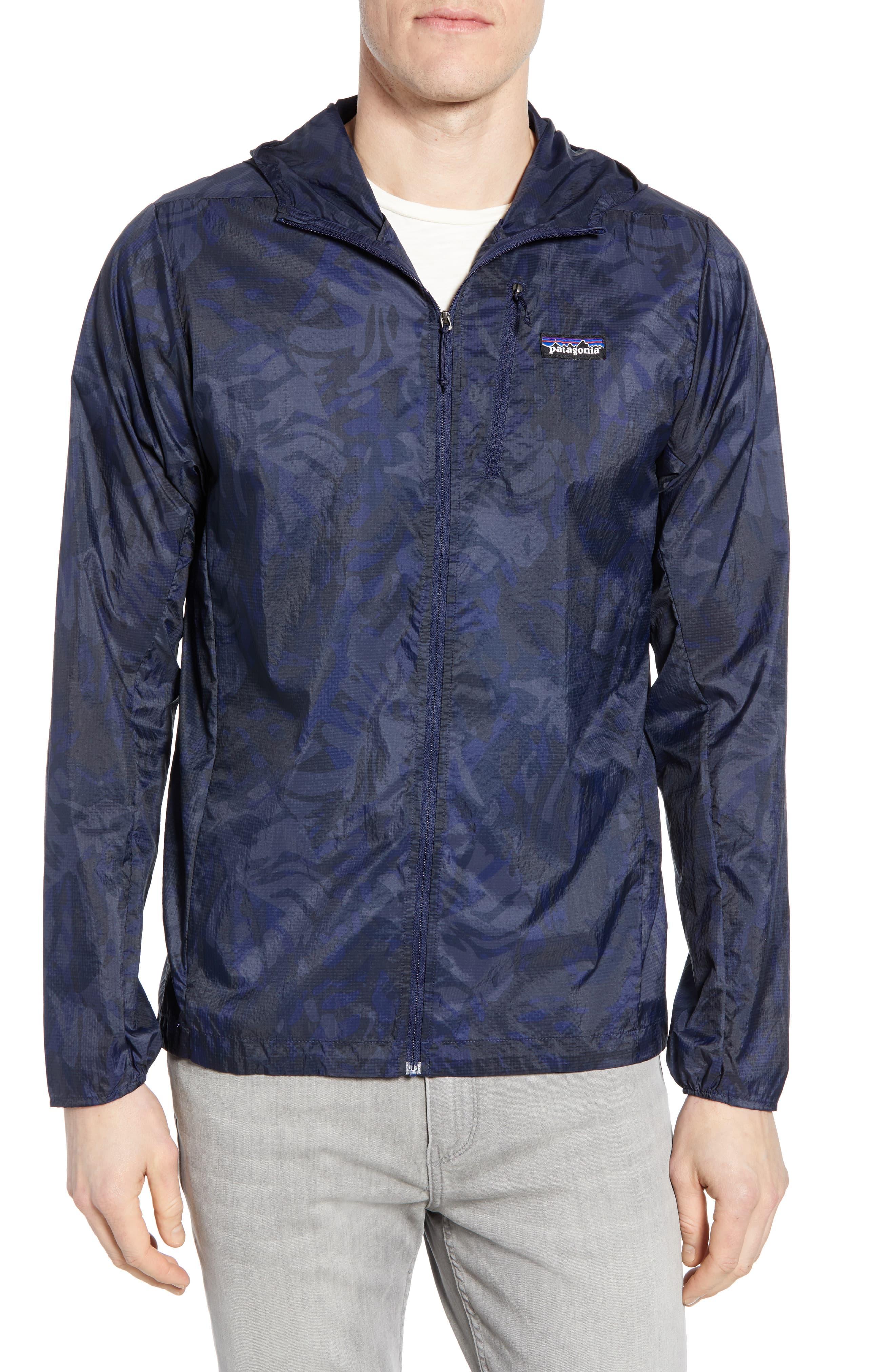 Men's Patagonia Houdini Water Repellent Hooded Jacket