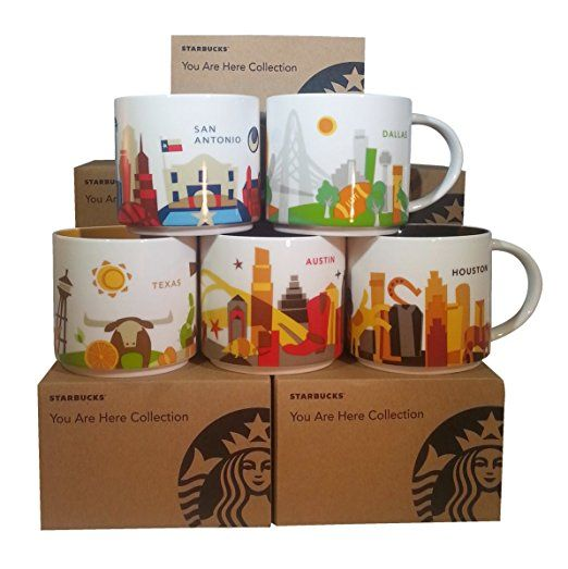 5 Complete Texas You Starbucks Set Are Mugs Here Of Collection eCBrdxWo