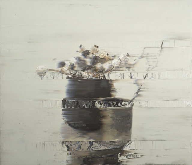 """Andy Denzler """"Andy Denzler weaves nostalgic photorealism with gestural expression in his wholly original style of painting. He achieves the look of his works—at once a paused film still and a sweeping..."""