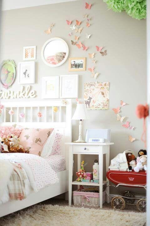 Dormitorio romantico nenas