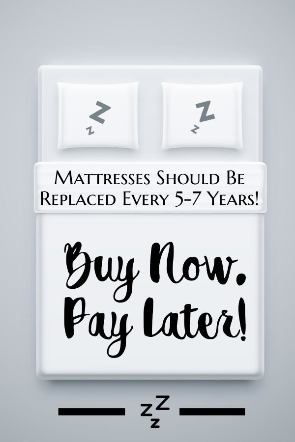 Can T Afford A New Mattress Mattresses Now And Pay Later Bedrooms