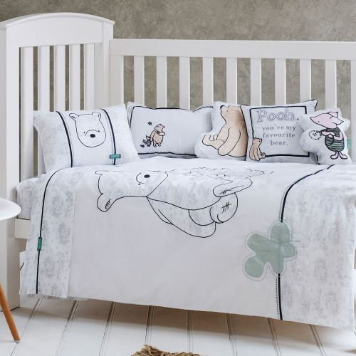 9 Fascinating Classic Pooh Crib Bedding Set Photograph