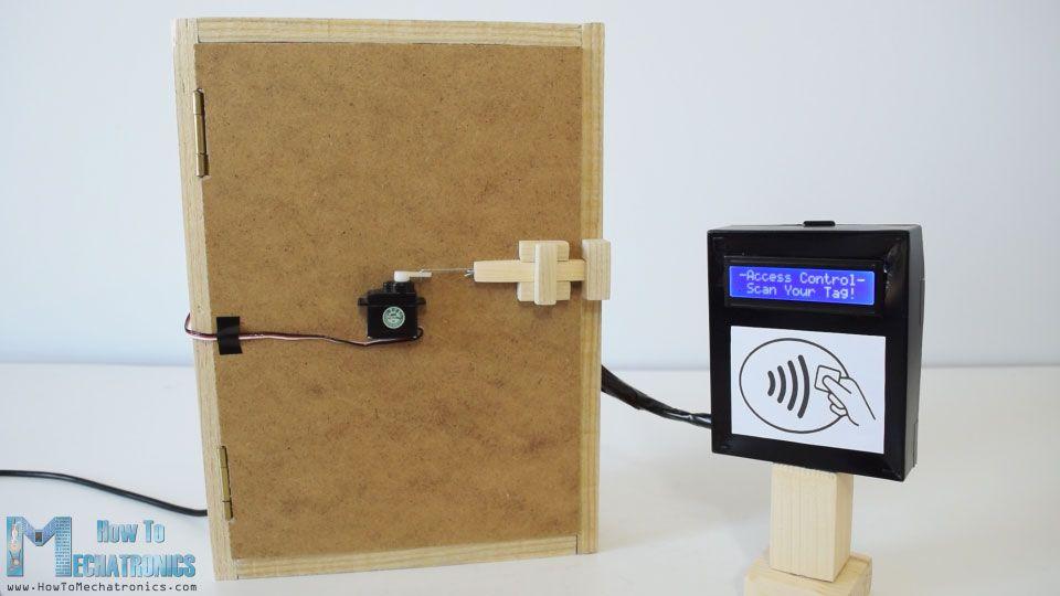 Arduino RFID Door Lock Access Control Project | DIY Hobby