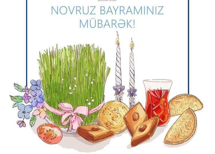 Rəssamin əl Isi Novruz Bayrami