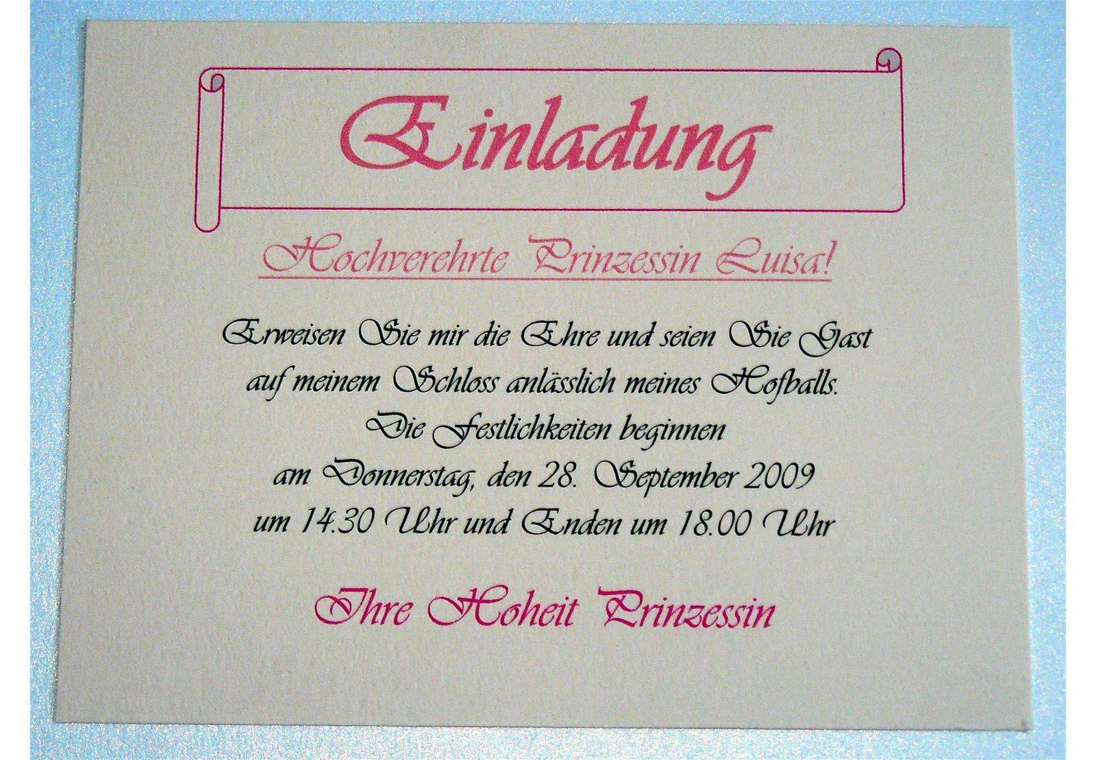 Pin On Geburtstag Einladung
