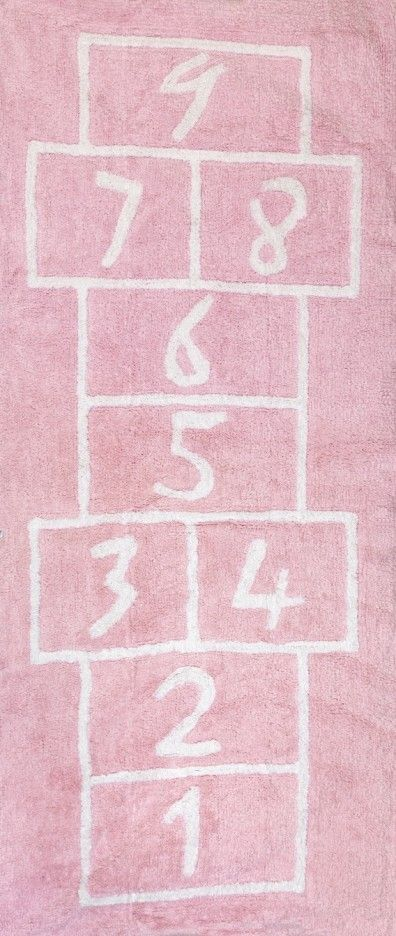 PATACOJA ROSA TEPPICH | Kinderzimmer | Pinterest | Teppich rosa ...