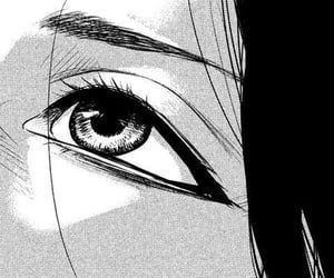 Pin By Lovser On White And Black Anime Monochrome Dark Anime Anime Eyes