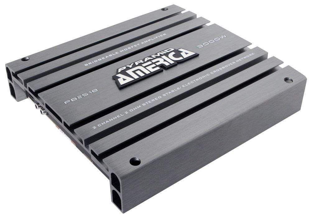 Pyramid 2ch Ampflier 3000w Max Car amplifier, Car audio