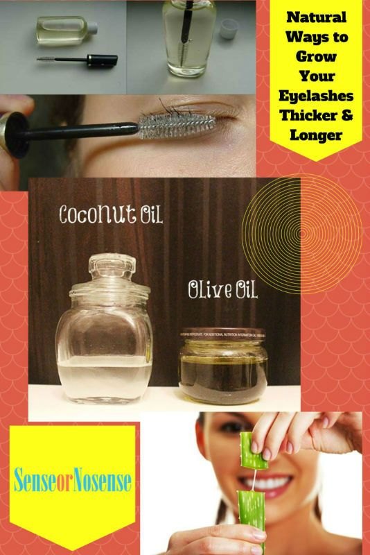 Natural Ways To Grow Your Eyelashes Thicker And Longer ...