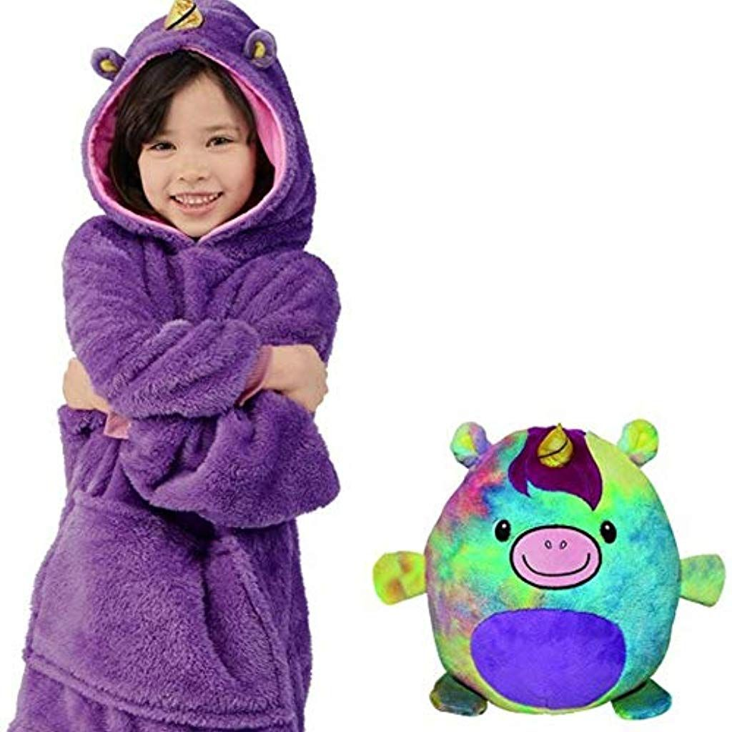 2019 Childrens Blanket SweatshirtPet Shaped Wearable Kids