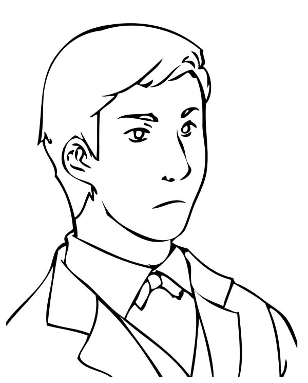 Handsome Business Man Coloring Pages Best Place To Color Coloring Pages Coloring Books Business Man