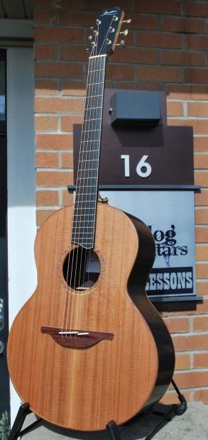 Since Bluedog Guitars owner Jenn got her new Brazilian Rosewood Wee