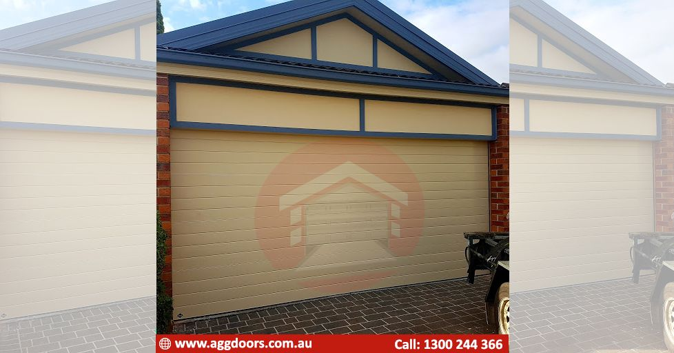 Installed A B D Panel Lift Icon In Seville Style In Paperbark Colour Great Work Seb And Trav Door Installation Garage Door Installation Garage Doors