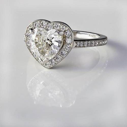 Heart Shaped Diamond Engagement Rings Kay Jewelers