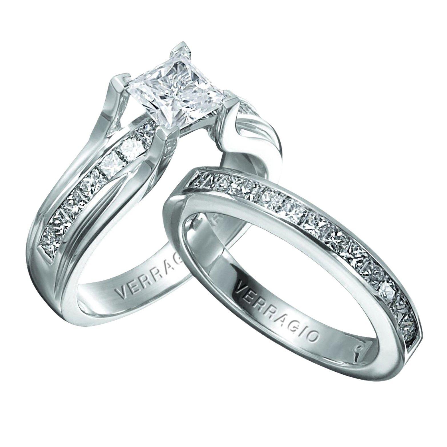 Platinum Verragio Clico 0069p Engagement Ring