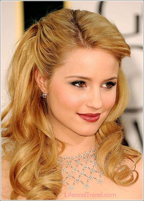 dianna argon lipstick golden blond curls sunny blonde hair hairstyle volume curly summer hair colour