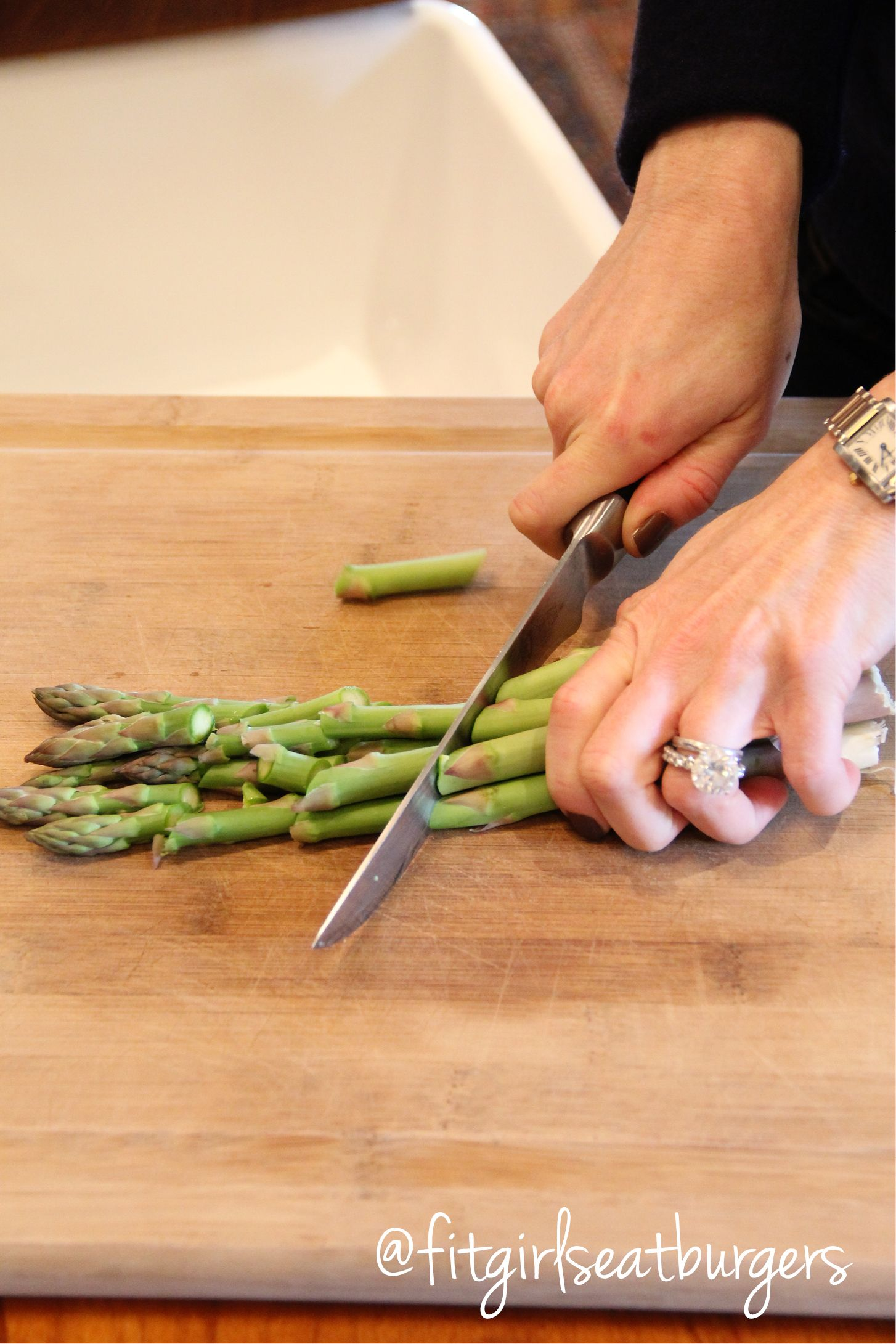 Asparagus is sometimes a forgotten vegetable that is so easy to cook. Keep it whole and steam for a side. Chop it and sautee lightly in olive oil. Steam lightly but keep it al dente and throw it on top of a salad.