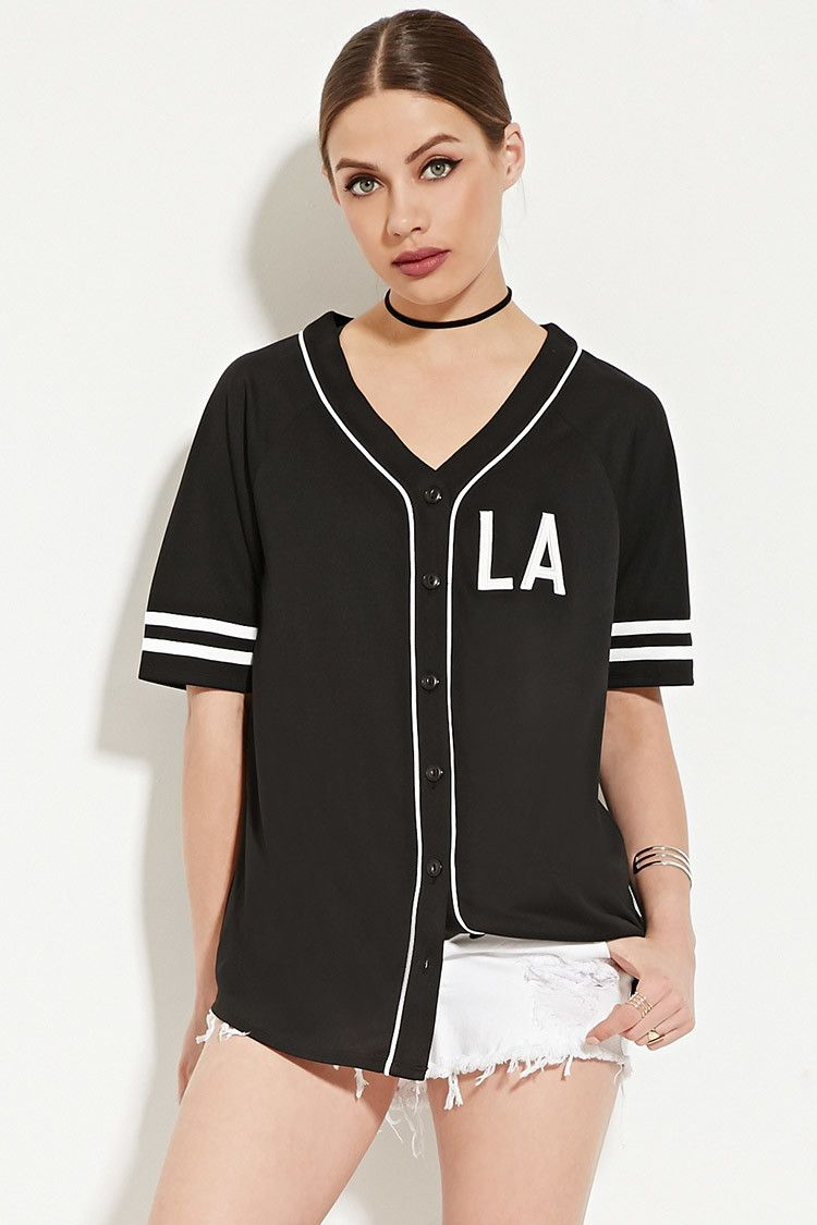 All Day Baseball Jersey Forever 21 2000169217 Clothes