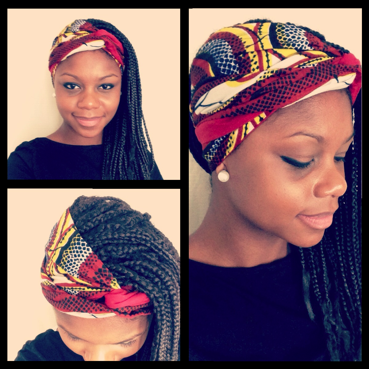 News style coiffure