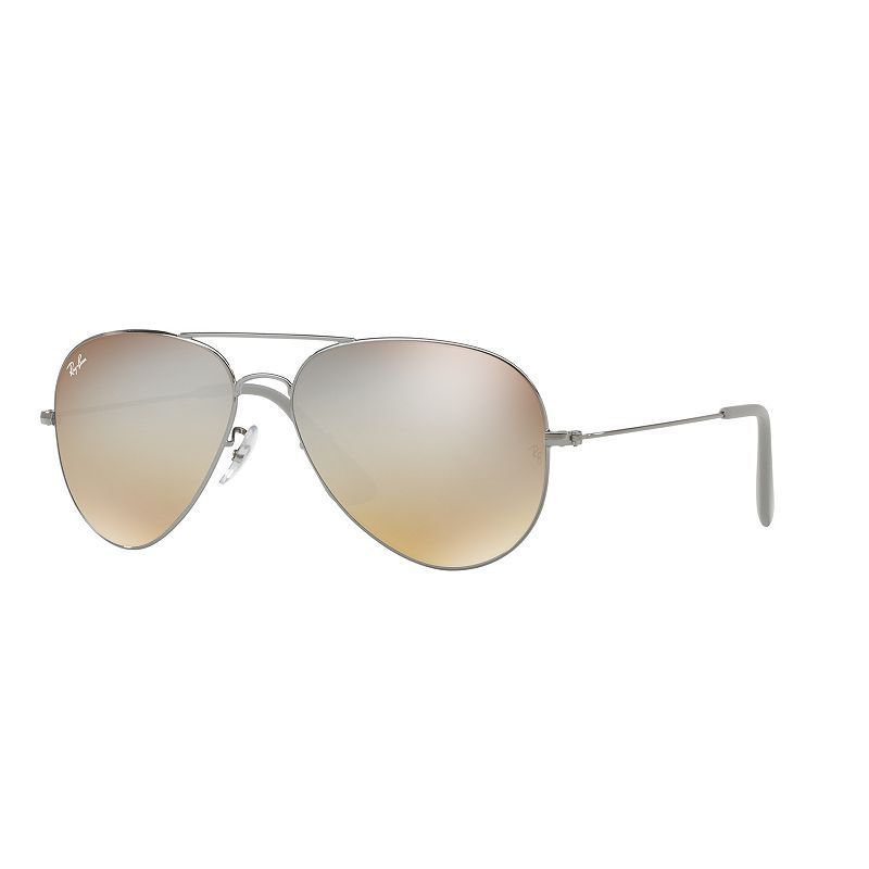 Ray-Ban RB3558 58mm Youngster Aviator Gradient Flash Sunglasses, Adult Unisex,