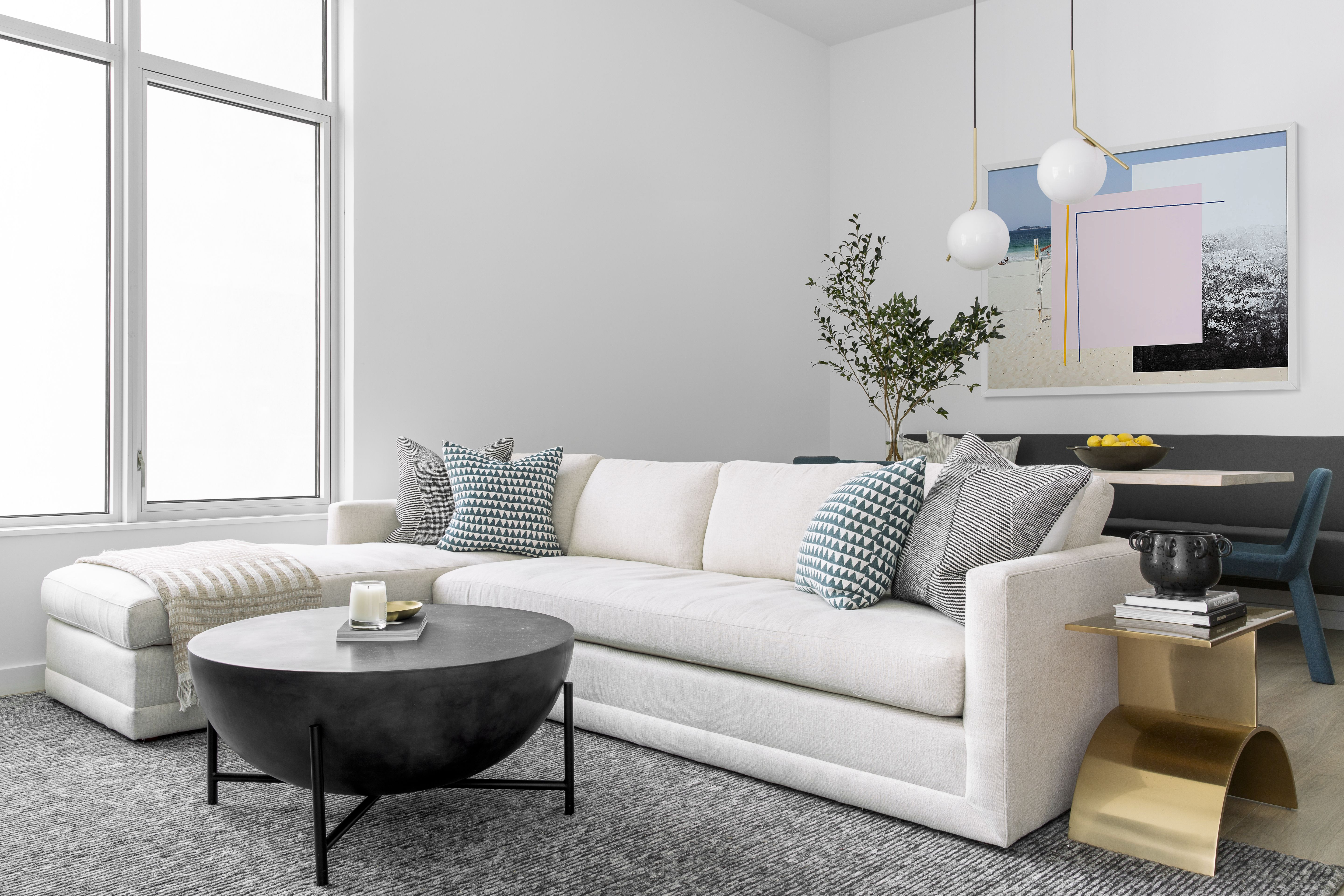 Home Tour Sectional Chaise Furniture Custom Furniture