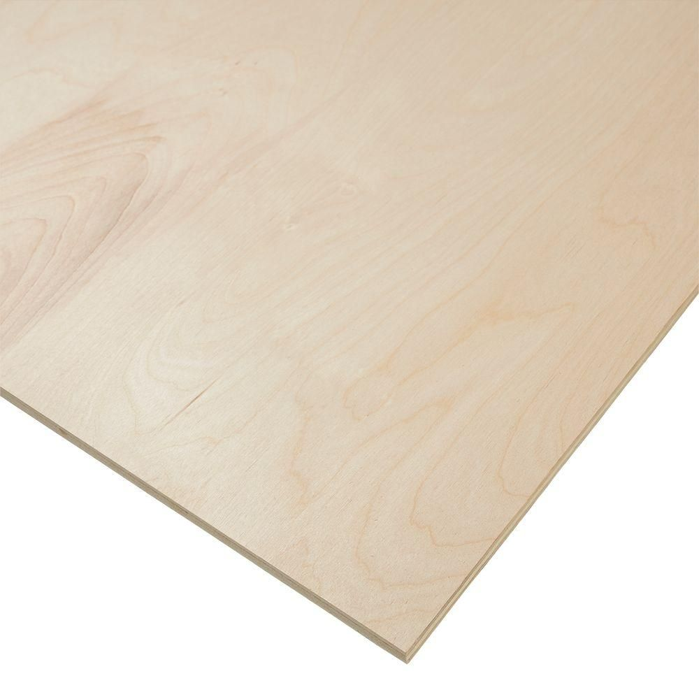 Columbia Forest Products 1 2 In X 4 Ft X 8 Ft Purebond Birch Plywood 833185 The Home Depot Birch Plywood Plywood Plywood Projects