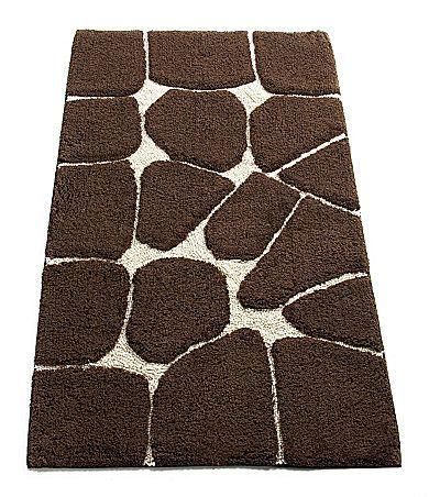 Nobility Giraffe Bath Rug Dillards Com Giraffe Decor Animal Print Decor Giraffe