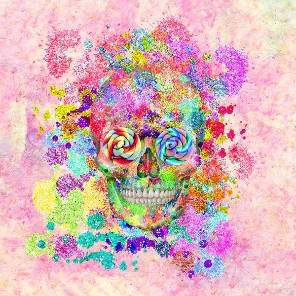 gallery for girly sugar skull wallpaper