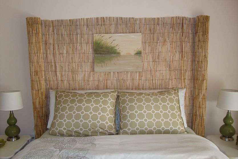 Re Purposed Fence Into A Head Board You Don T Have To Use Items For Their Intended Purpose Decoration Maison De Campagne Deco Chambre Deco Maison