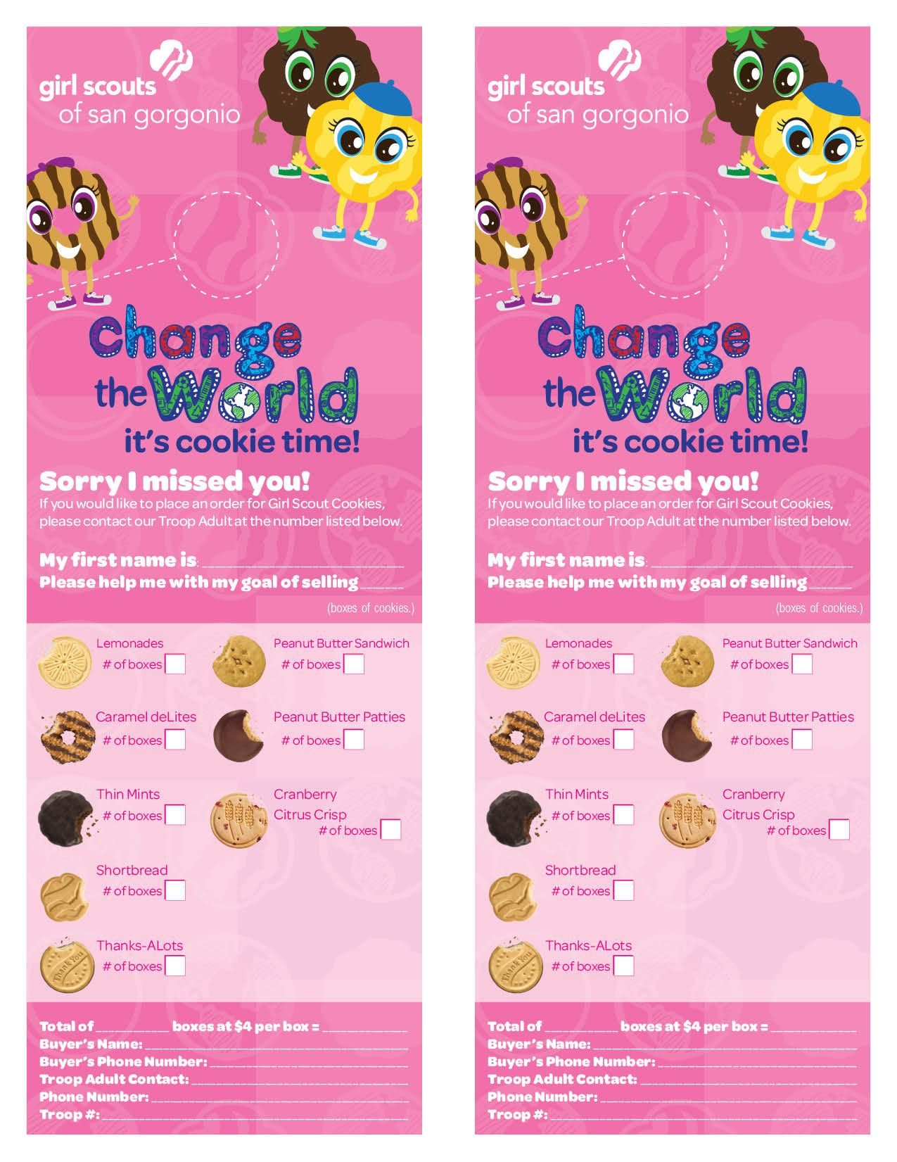 girl scout cookie flyer template google search daisies girl scout cookie flyer template google search
