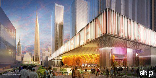 som penn station project | Penn Station Re-Imagined: Four Architecture Firms Propose Future ...