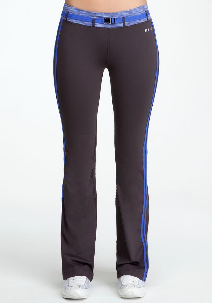 Spacedye Dangerous Pant - Bebe Sport - Dk Grap/Blu Cmb/Dazz - S