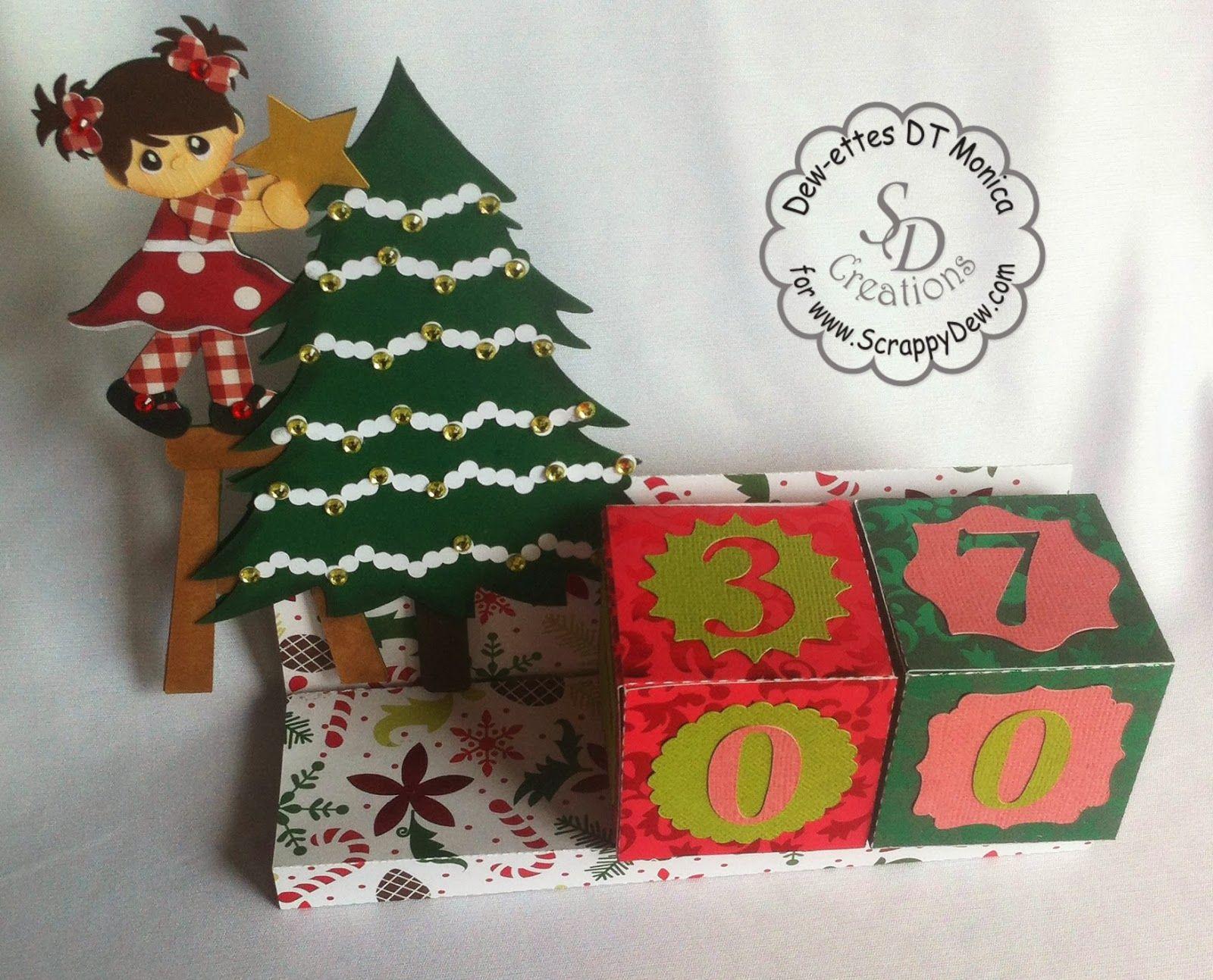 My Way Christmas Tree Advent Calendar