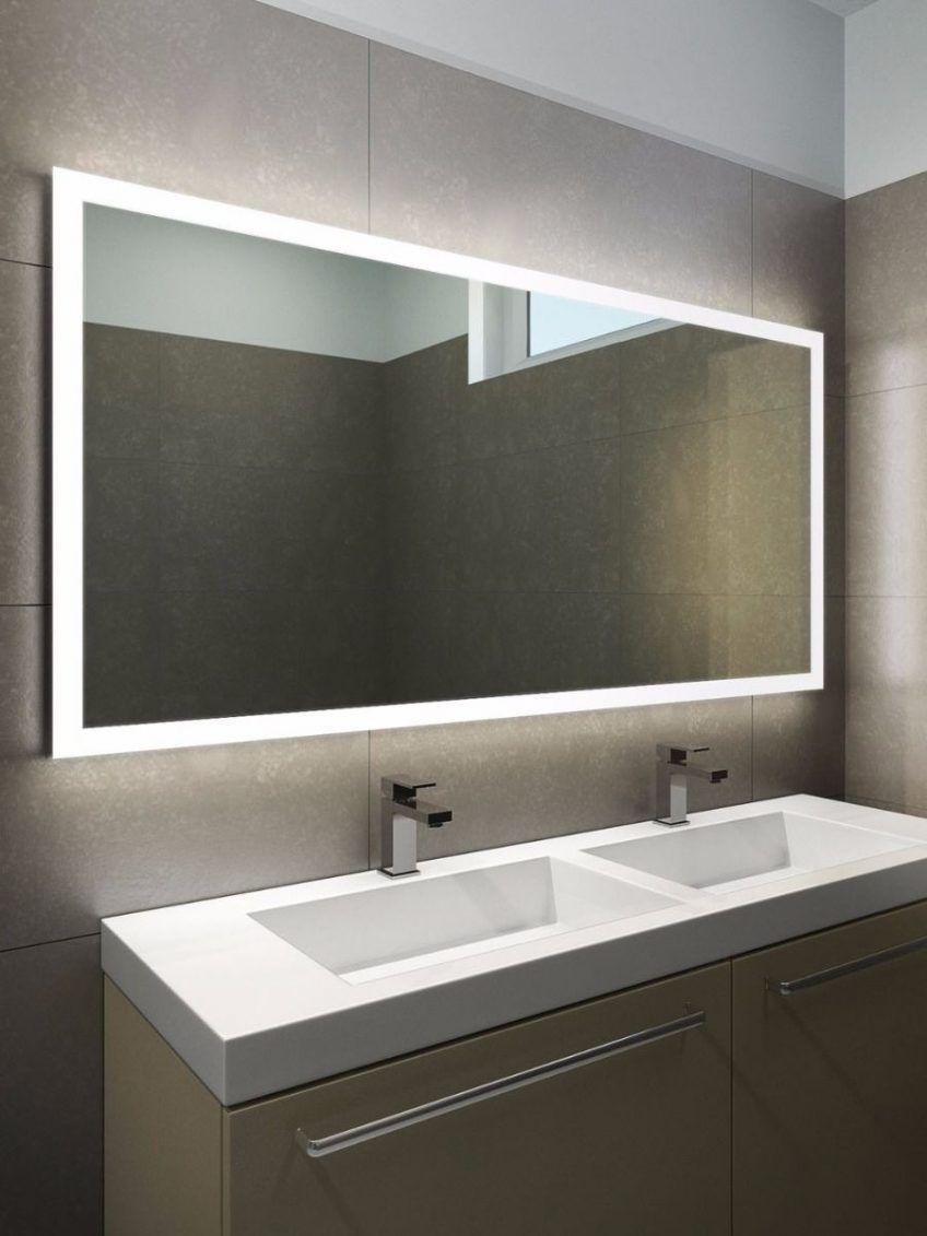 Bathroom Mirror With Led Lights 79 Enchanting Ideas With Bathroom Mirror Lighting Bathroo Bathroom Mirror Design Bathroom Mirror Lights Modern Bathroom Mirrors