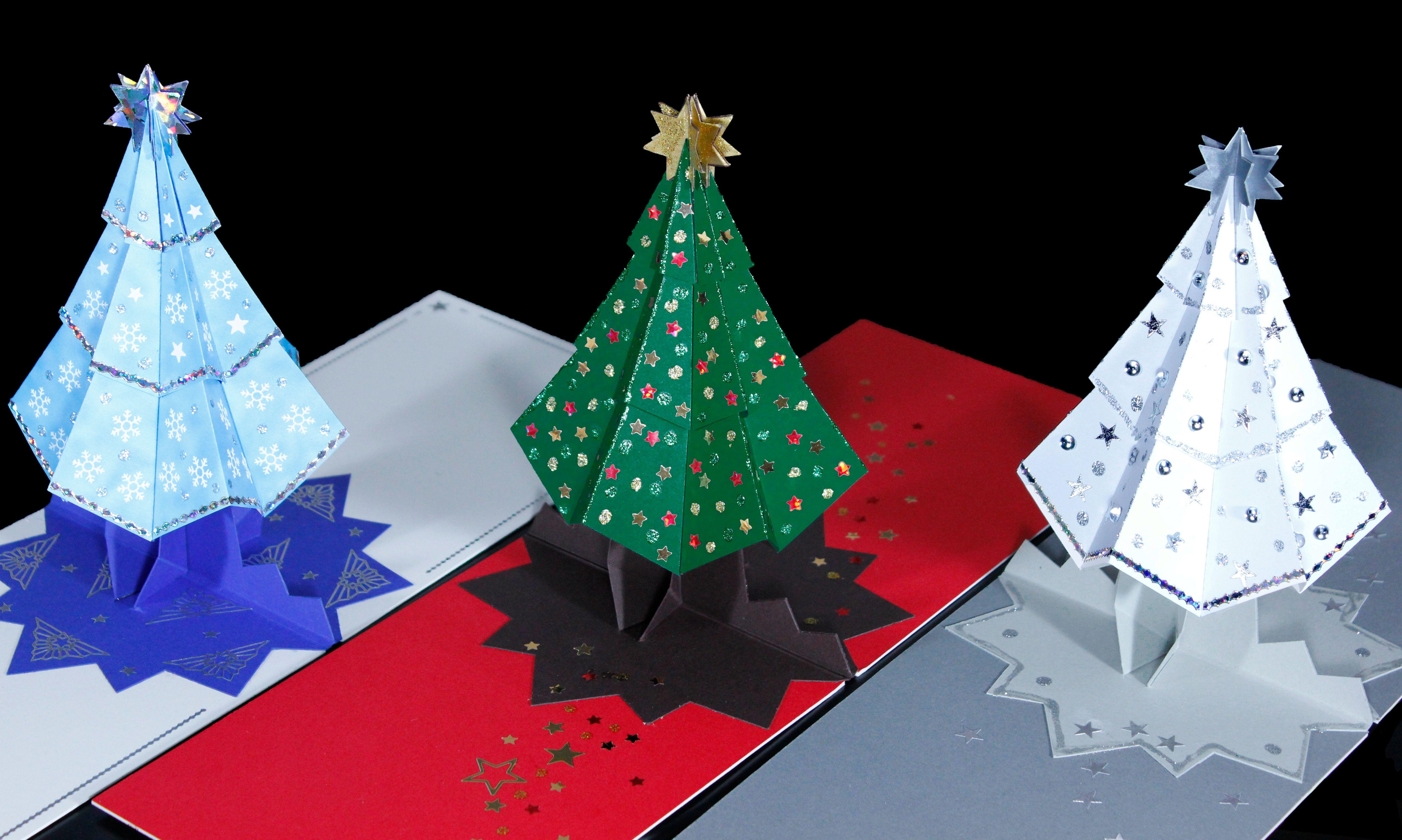 Christmas Tree Card Ideas Pinterest Christmas Christmas Cards