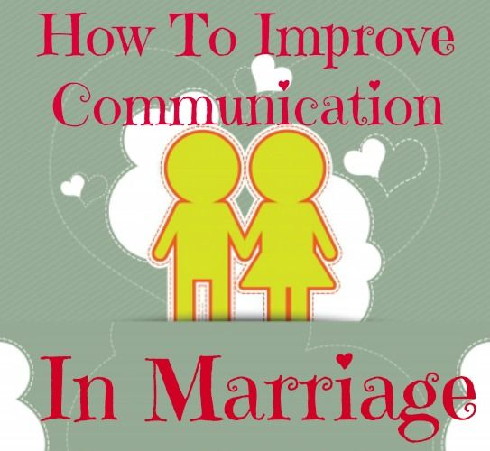 Improving communication with your spouse