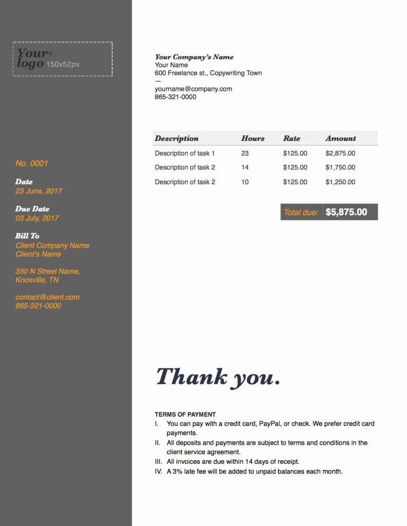 Freelance Writer Invoice Template Luxury The Plete Guide To Freelance Writer Invoices Austin L Invoice Template Freelance Invoice Template Freelance Writing
