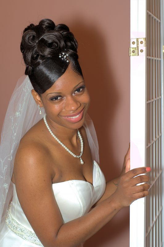 Black Natural Hairstyles For A Wedding : 84 best wedding hairstyles for natural hair images on pinterest