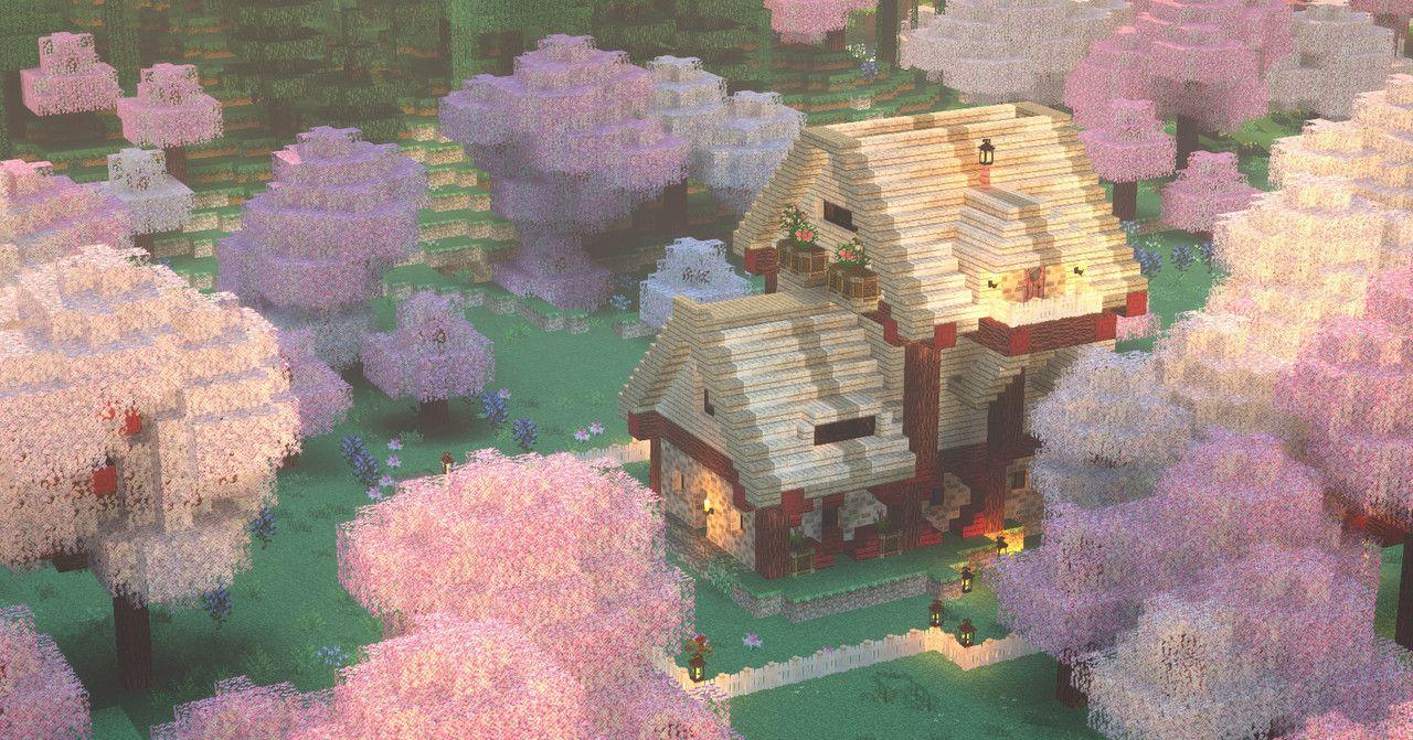 Toxic Lustre Cute Minecraft Houses Minecraft Blueprints Minecraft Houses