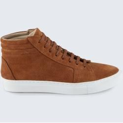 Hightop Sneaker by Ludwig Reiter in Cognac windsorwindsor #indieoutfits
