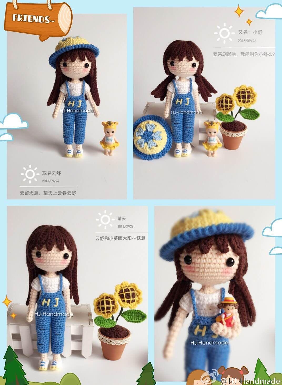 Ravelry: Yun Shu pattern by CrochetWawa | Crochet dolls | Pinterest ...