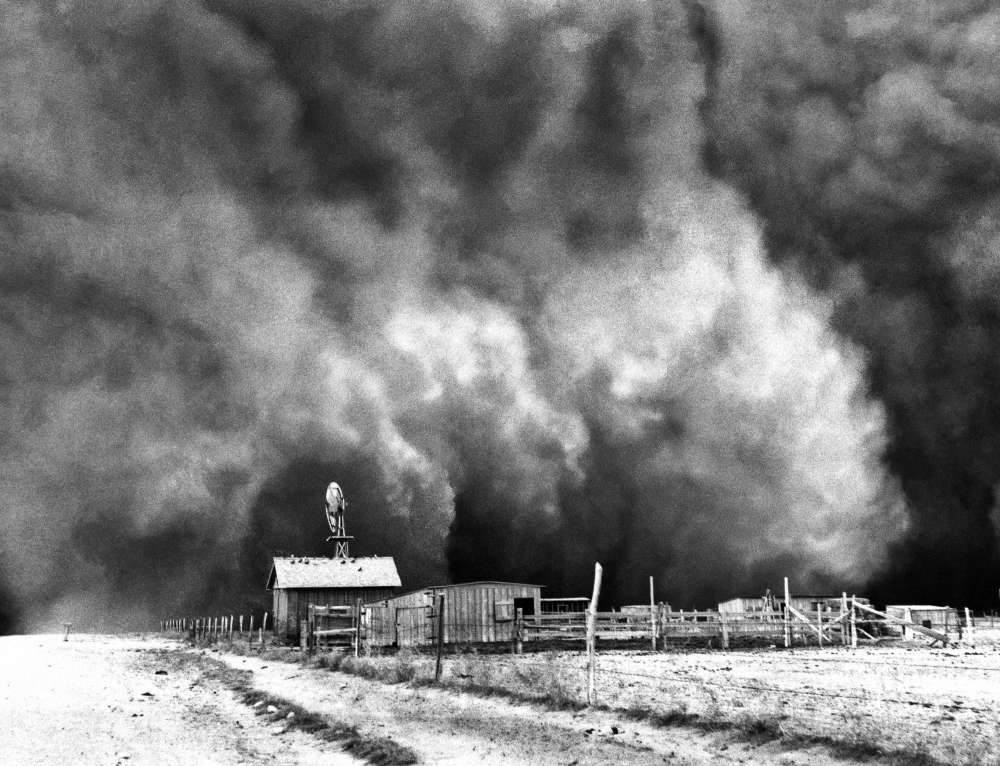 the dust bowl a period of The 1934 drought was one of four similar events that occurred in sequence over a period of 10 years the droughts of 1930-31, 1934, 1936 and 1939-40 are together called the dust bowl.