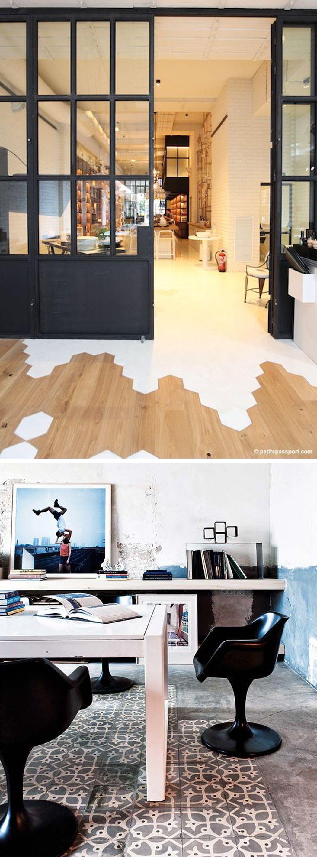 Combinar suelos y puertas vitrina rstica puertas puertas - Combinar color suelo y paredes ...