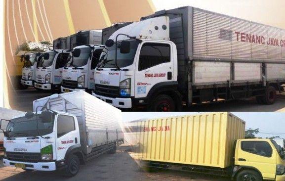 Contoh Desain Company Profile Perusahaan Ekspedisi Transportasi Dan Trucking Desain