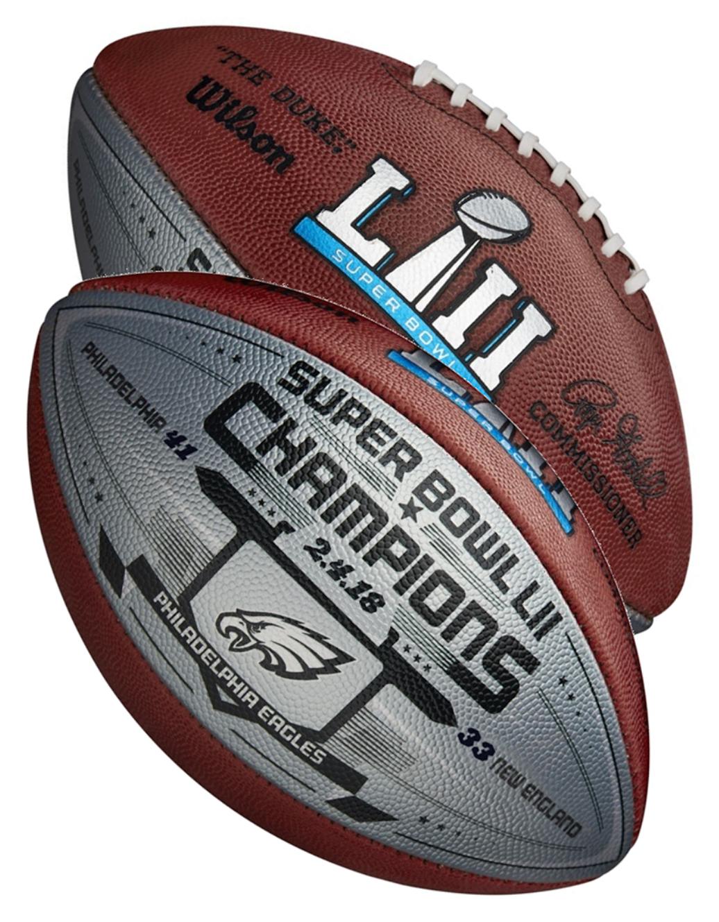 New Release 2018 Philadelphiaeagles Superbowl52 Champions Metallic Wilson Nfl Rogergoodell The Duke Official Size Football Es Philadelphia Eagles Super Bowl Philadelphia Eagles Fans Philadelphia Eagles